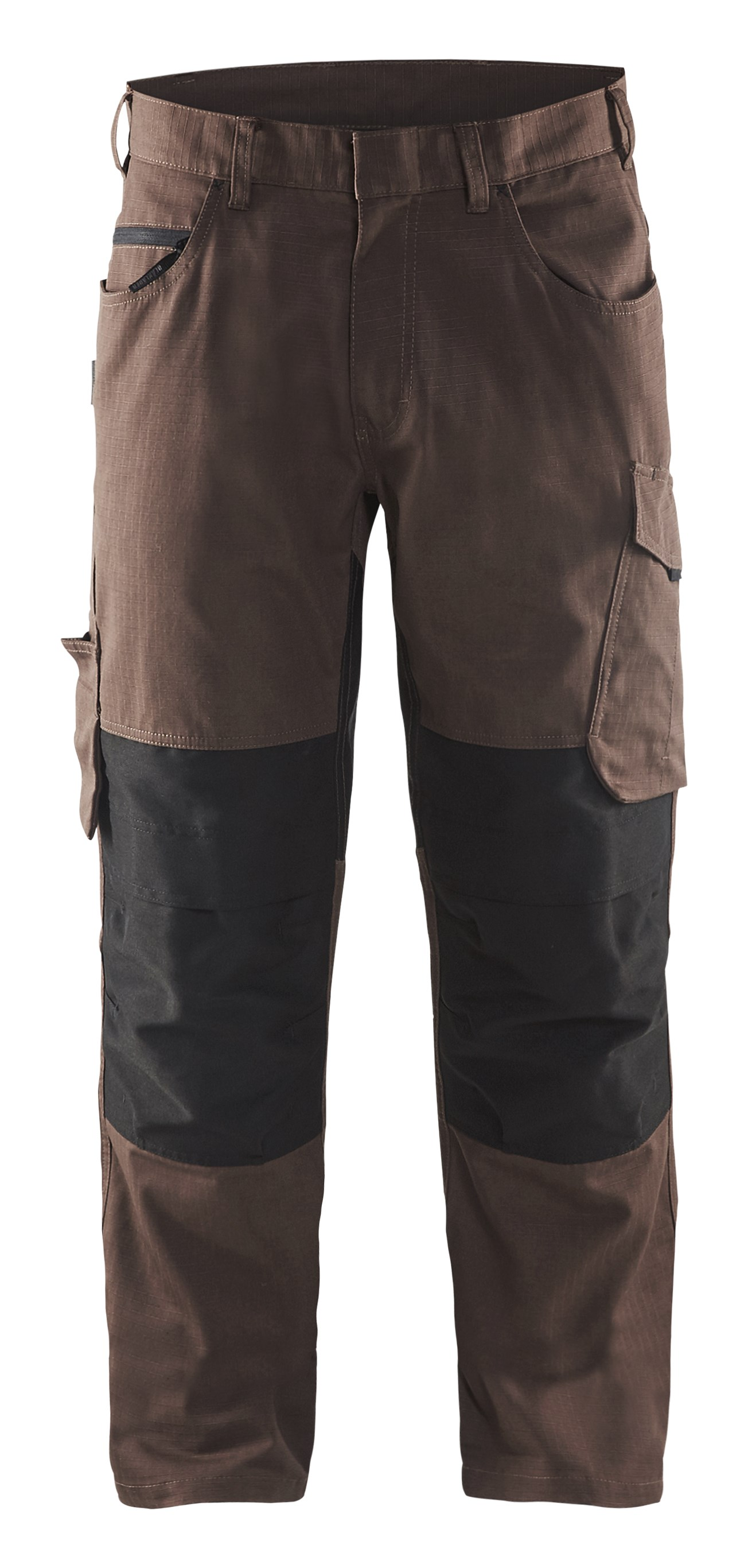Trouser with knee pocket Unite Brown/Black D112