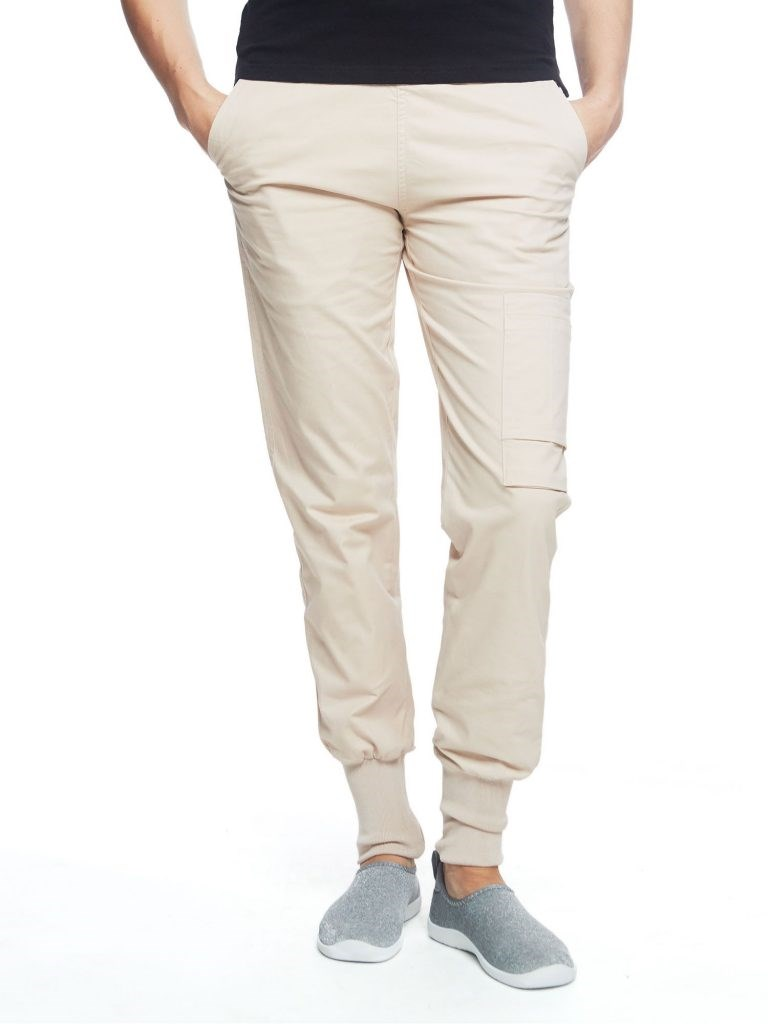 Ladies Easy Pant Dusty Pink L